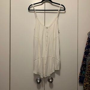 Amuse Society Beach Affair Dress in White